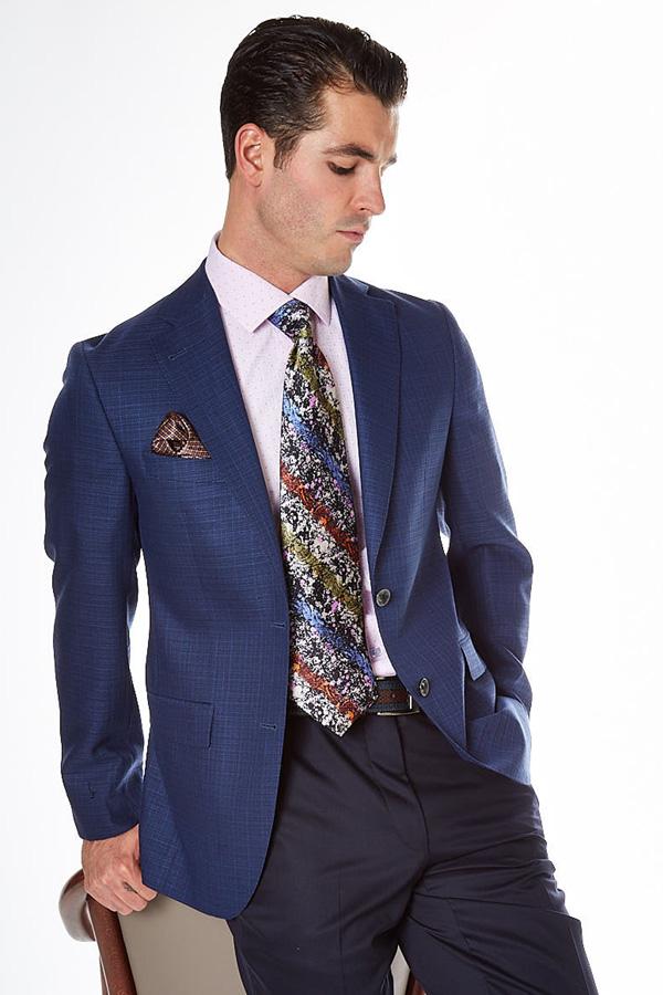 Barcelino professional blue men's jacket