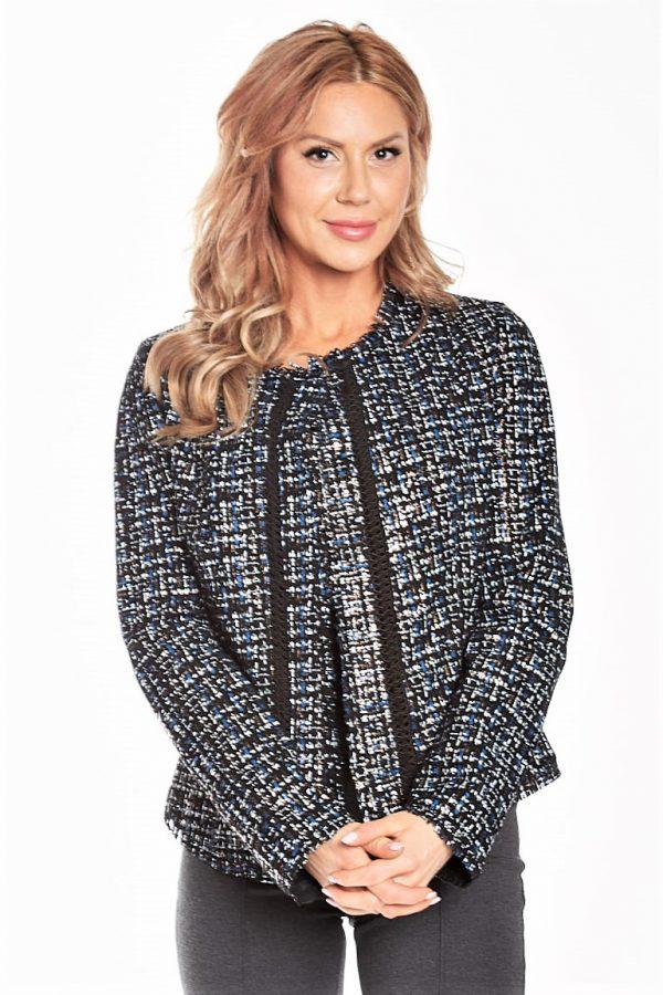 Chanel Style leather jacket