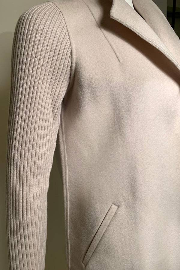 Cashmere/Wool Luxury Sweater Coat